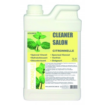 Cleaner salon citronnelle