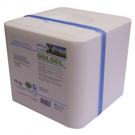Bloc de sel pur à lécher - 10 kg