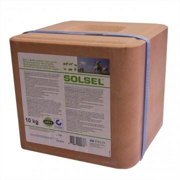 Bloc de sel Minéral sans cuivre à lécher - 10 kg