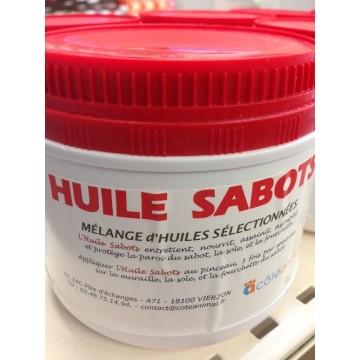 Huile pour sabots - pot de 500 ml