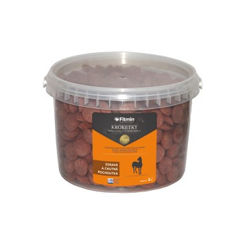 Fitmin Croquettes aux carottes avec de la vitamine E 1 kg