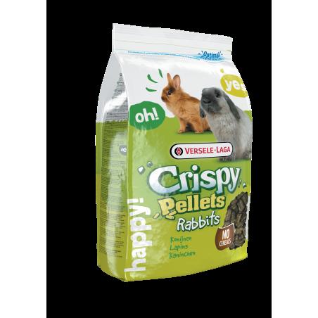 Crispy Pellets - Breeder Rabbits - Herbivores Entretien - 25 kg