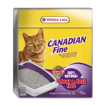 Litière chat Canadian fine - 15 kg