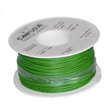 Bobine de fil supplémentaire 0,52 mm² x 100 m pour canifugue