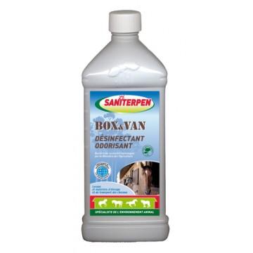 Saniterpen Plus box et van- Désinfectant bactéricide