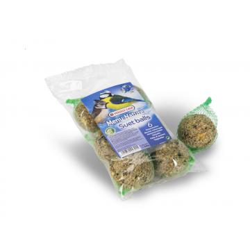 Boules mésanges - 90 gr par 6 sous plastique
