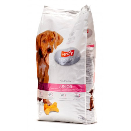 Wooffy Premium Junior au poulet