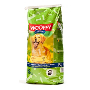 Wooffy adulte Sensitive à l'agneau* - 18kg