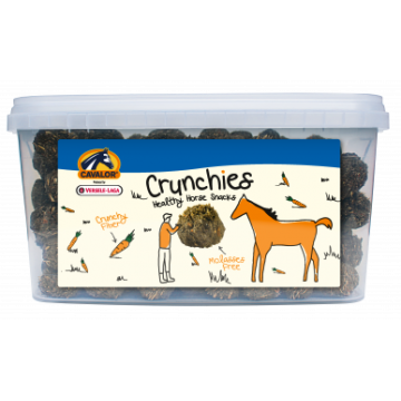 Cavalor® crunchies avec de la carotte et sans mélasse