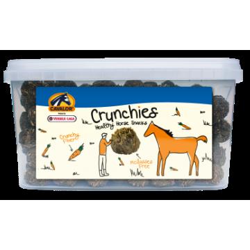 Snacks cavalor crunchies avec de la carotte et sans mélasse