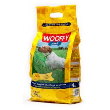 Wooffy adulte au poulet - 4kg