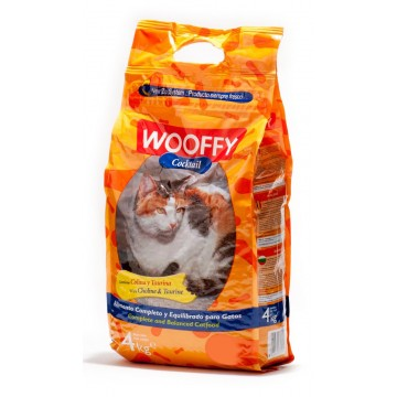 Wooffy Chat adulte Cocktail au poulet et au poissons - 4 kg