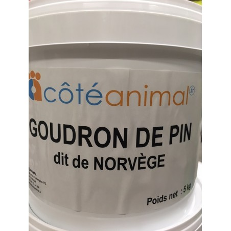 """Goudron de pin """"dit de Norvège"""" - Seau de 5 kg"""