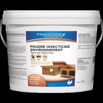 insecticide en poudre - terre de diatomée