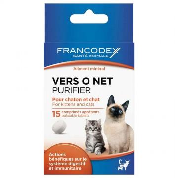 Vers O Net pour chaton et chat en comprimés