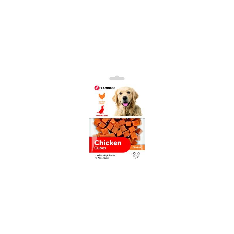 Snacks cubes viande de poulet