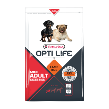 Opti Life Adult Digestion Mini (Lamb & Riz)