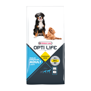 Opti Life Adult Light Medium/Maxi (Poulet & Riz)
