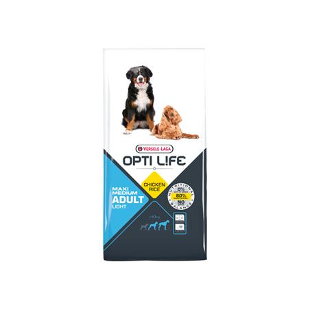 Opti Life Adult Light Medium/Maxi (Poulet & Riz)