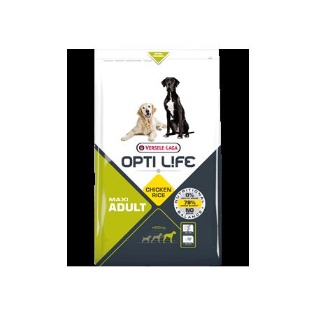 Opti Life Adult Maxi (Poulet & Riz)