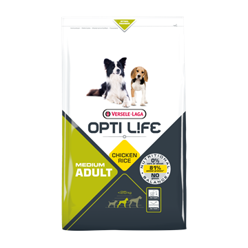 Opti Life Adult Medium (Poulet & Riz)