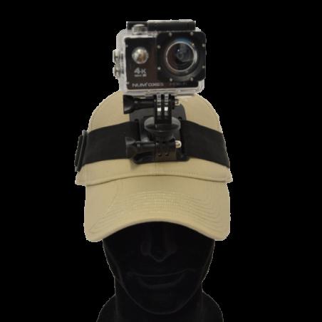 Bandeau de fixation frontale, compatible caméra 4K CAM1014