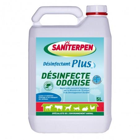 Saniterpen Plus - Désinfectant bactéricide