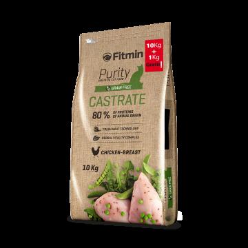 Fitmin Cat Purity Castrate - Stérilisé - Blancs de pouletet dinde