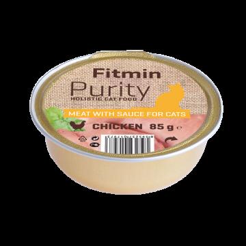 Fitmin Purity barquette de viande de poulet pour chat sans céréale