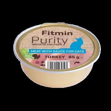 Fitmin Purity barquette de viande de dinde pour chat sans céréale