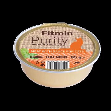 Fitmin Purity barquette au saumon pour chat sans céréale