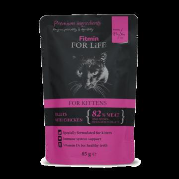 FFL Sachet fraicheur au poulet pour chatton (kitten)