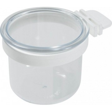 Mangeoire en plastique rond - 60 ml