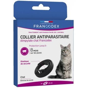 Collier antiparasitaire prevendice pour chat