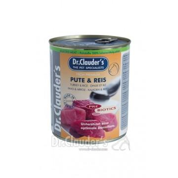 Boite Selected meat Dr Clauder's - dinde et riz